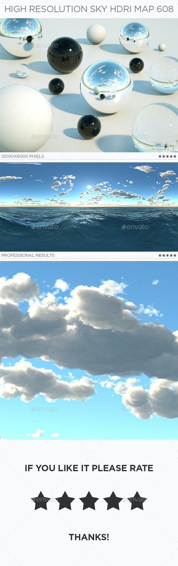 High Resolution Sky HDRi Map 608 - 3DOcean Item for Sale