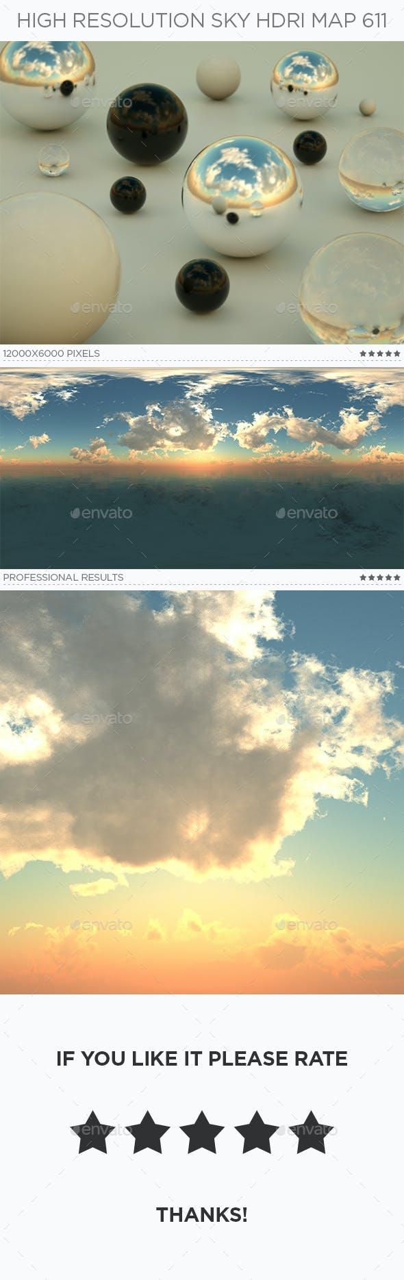 High Resolution Sky HDRi Map 611 - 3DOcean Item for Sale