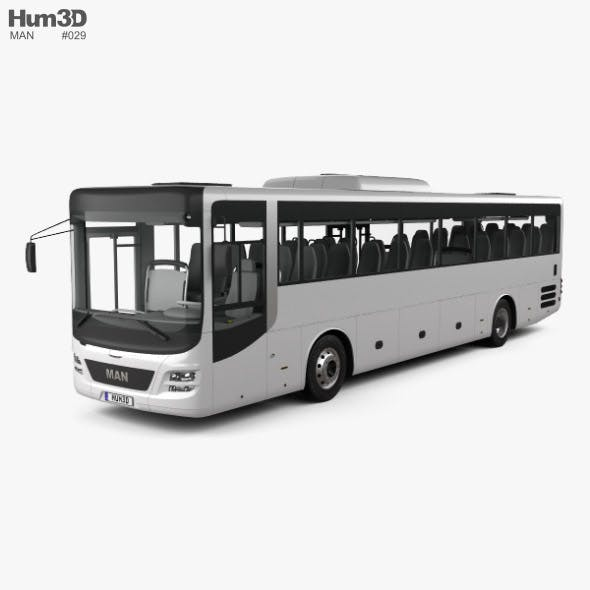 MAN Lion's Intercity Bus with HQ interior 2015