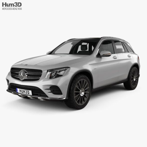 Mercedes-Benz GLC-class (X205) AMG Line with HQ interior 2015 - 3DOcean Item for Sale