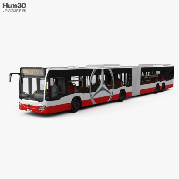 Mercedes-Benz CapaCity L 4-door Bus with HQ interior 2014