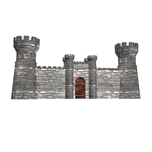 Castle Gate - 3DOcean Item for Sale