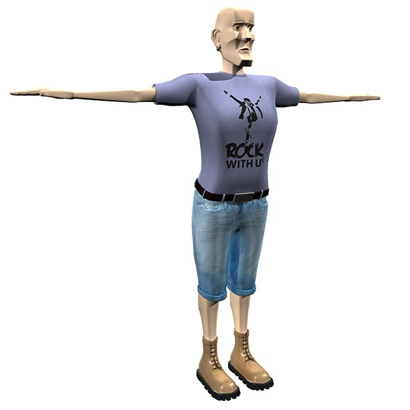 Man Body Builder