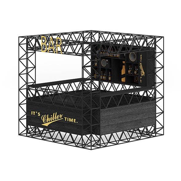Bar Stall 3D Model - 3DOcean Item for Sale