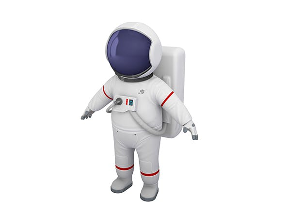 Astronaut Character - 3DOcean Item for Sale