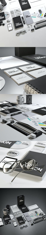 Stationery Mock-up Kit - 3DOcean Item for Sale