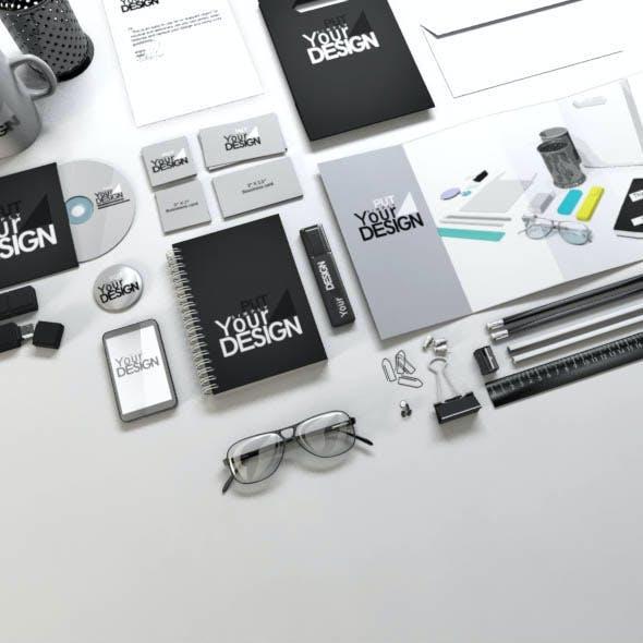 Stationery Mock-up Kit