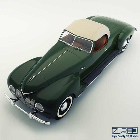 ZiS 101a Sport - 3DOcean Item for Sale