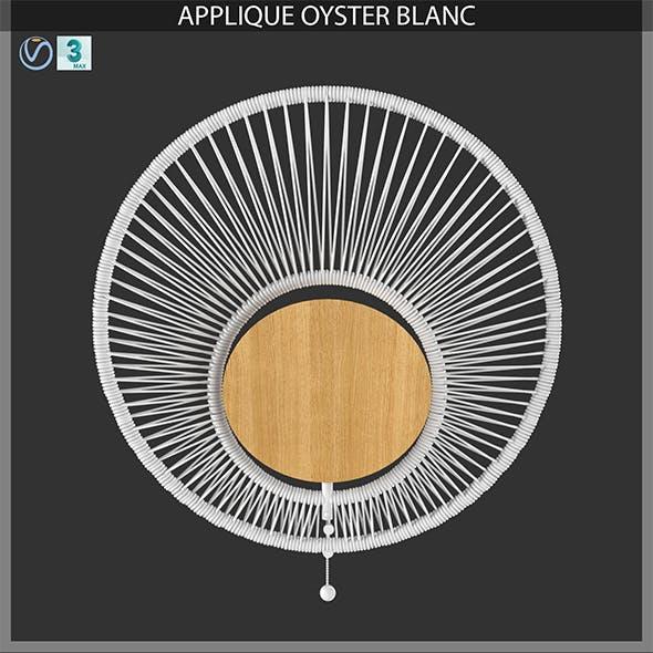 APPLIQUE OYSTER BLANC