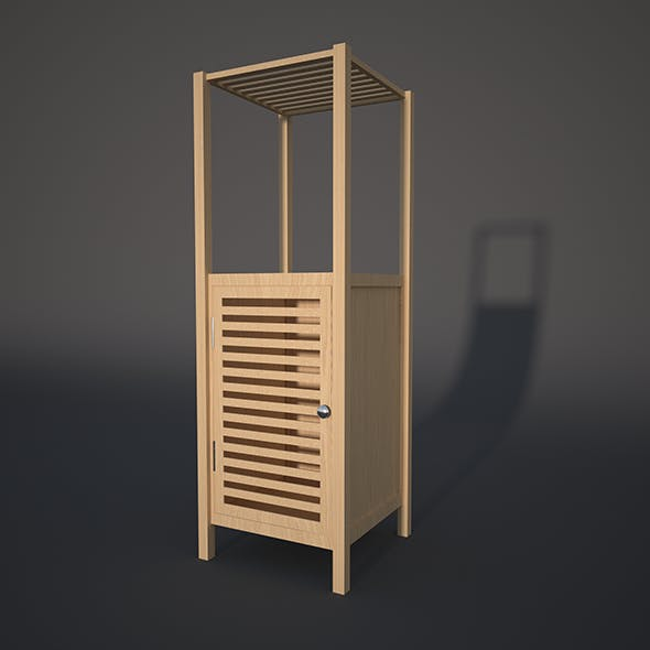 Wooden Cupboard - 3DOcean Item for Sale