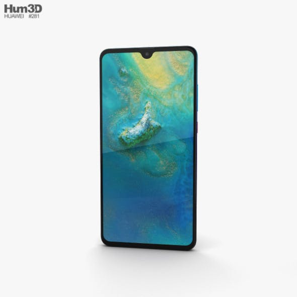 Huawei Mate 20 Twilight - 3DOcean Item for Sale