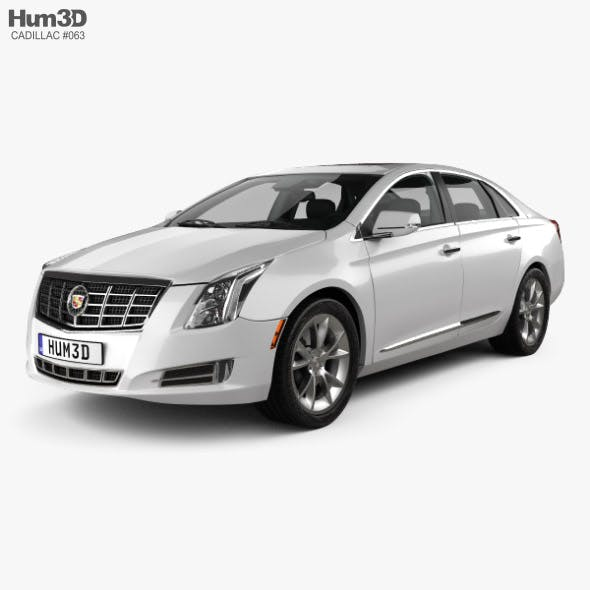 Cadillac XTS with HQ interior 2013 - 3DOcean Item for Sale