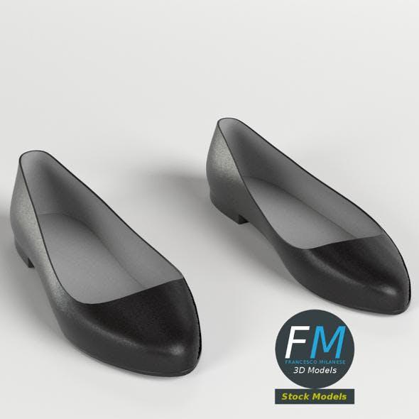 Ballerina Shoes - 3DOcean Item for Sale