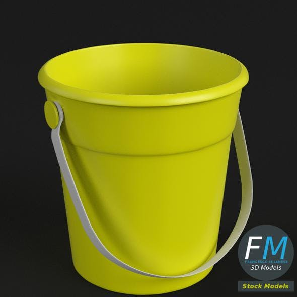 Beach bucket - 3DOcean Item for Sale
