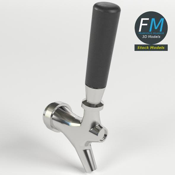 Beer tap faucet 2 - 3DOcean Item for Sale