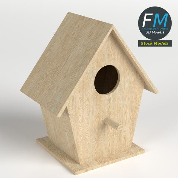 Bird house 1 - 3DOcean Item for Sale