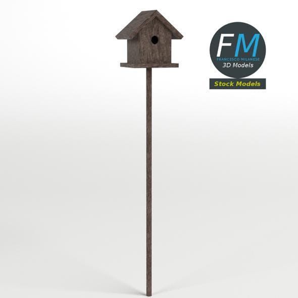 Bird house 2 - 3DOcean Item for Sale
