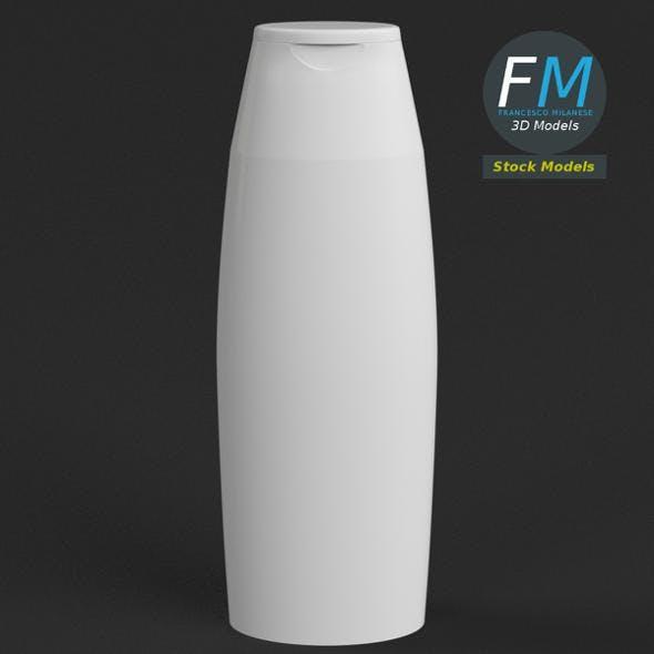 Body cream bottle