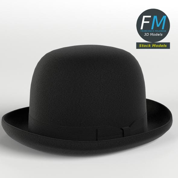 Bowler hat - 3DOcean Item for Sale