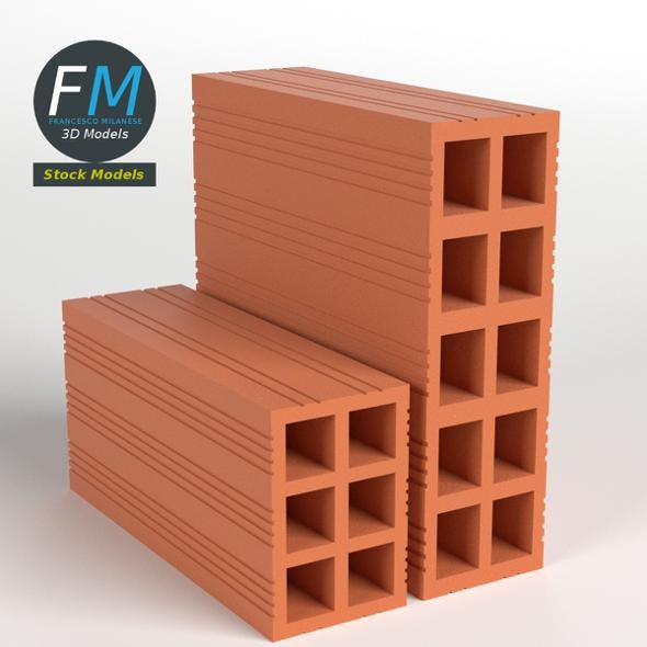 Bricks - 3DOcean Item for Sale