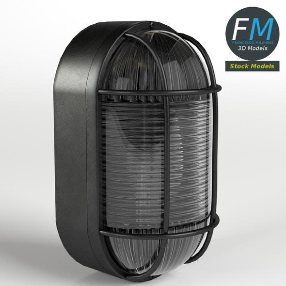 Bulkhead lamp - 3DOcean Item for Sale