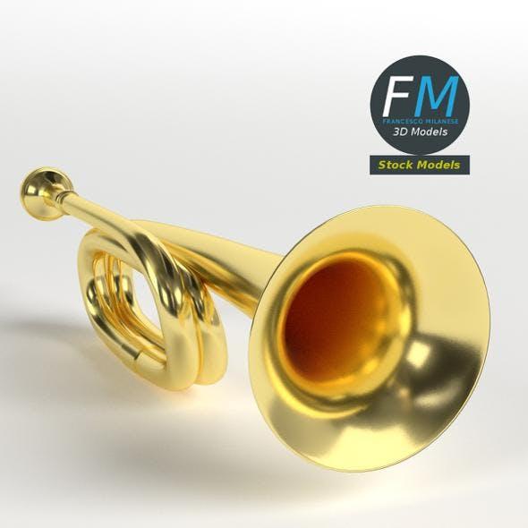 Cavalry trumpet - 3DOcean Item for Sale