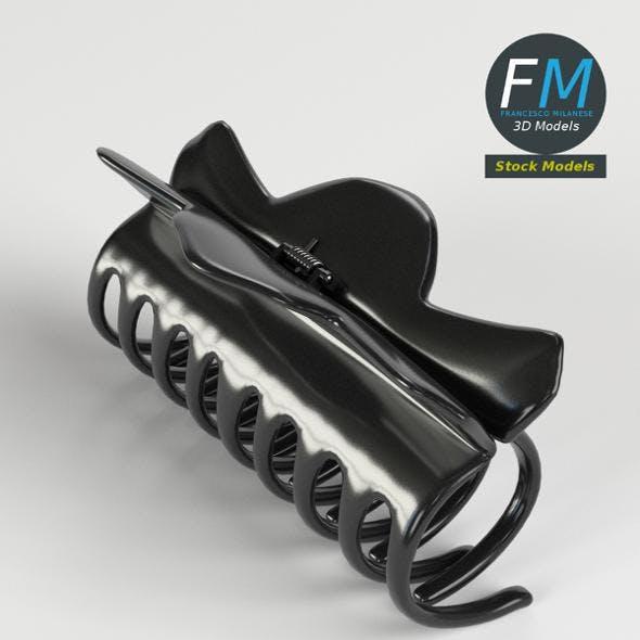 Claw hair clip - 3DOcean Item for Sale