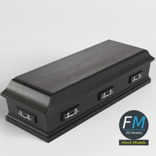 Closed coffin - 3DOcean Item for Sale