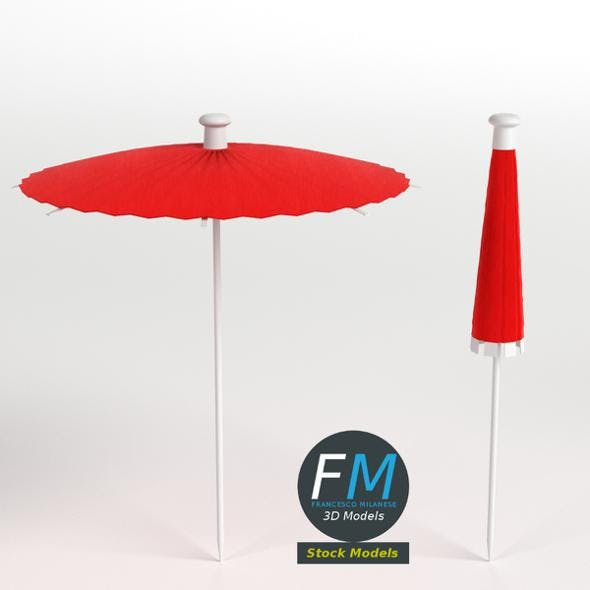 Cocktail umbrellas - 3DOcean Item for Sale