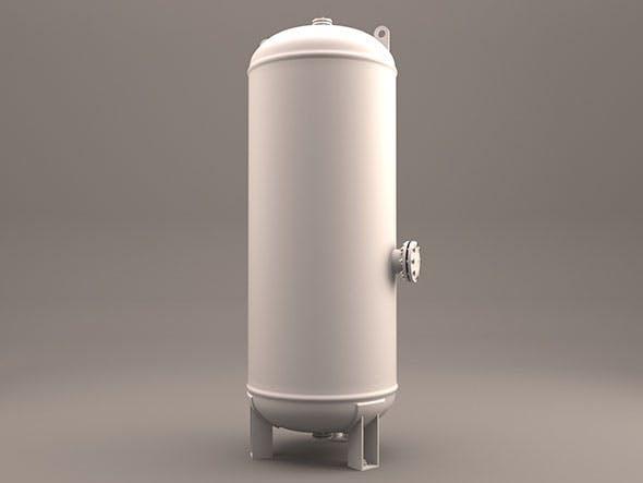 Industrial Tank Air - 3DOcean Item for Sale