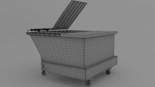 Dumpster V3 - 3DOcean Item for Sale
