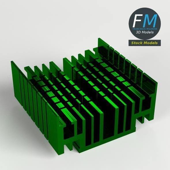 CPU radiator