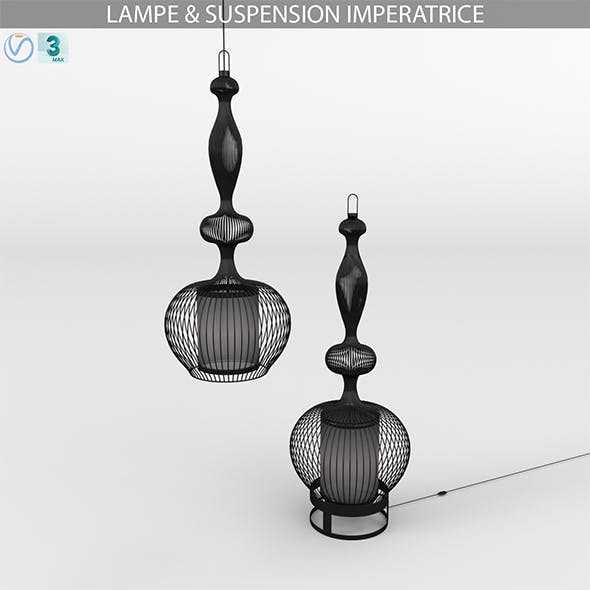 LAMPE & SUSPENSION IMPERATRICE - 3DOcean Item for Sale