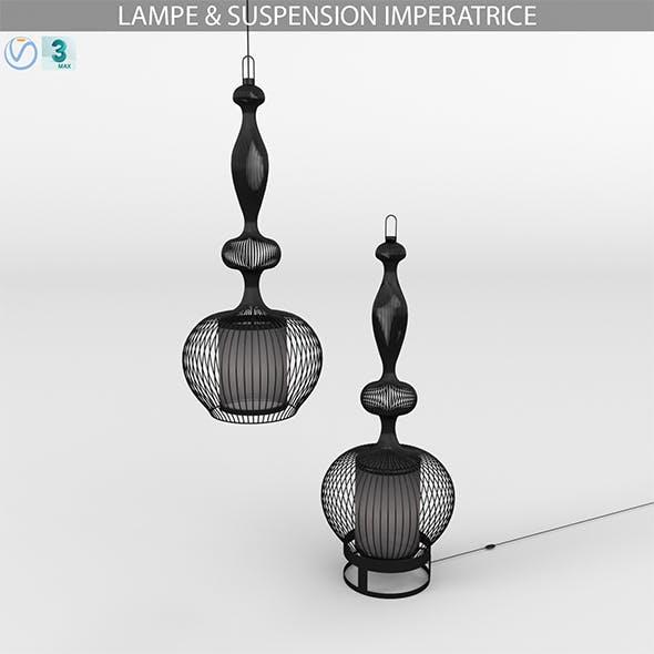 LAMPE & SUSPENSION IMPERATRICE