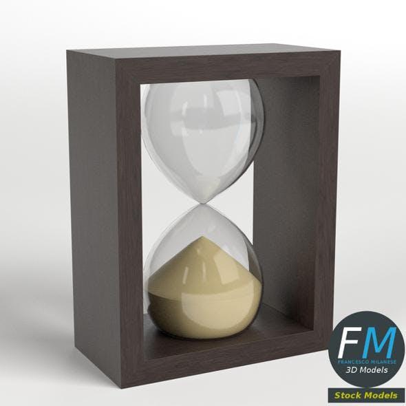 Deco hourglass 1 - 3DOcean Item for Sale
