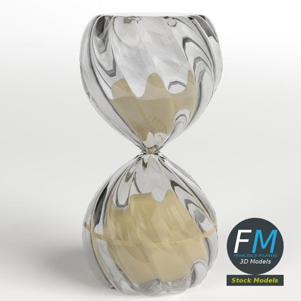 Deco hourglass 2 - 3DOcean Item for Sale