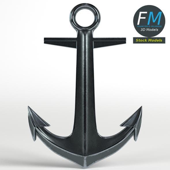 Decorative Anchor - 3DOcean Item for Sale