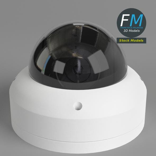 Dome surveillance camera - 3DOcean Item for Sale