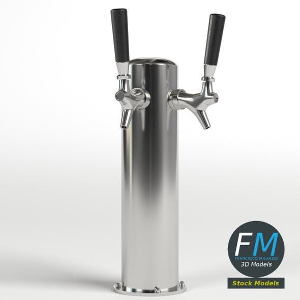 Double beer tap - 3DOcean Item for Sale