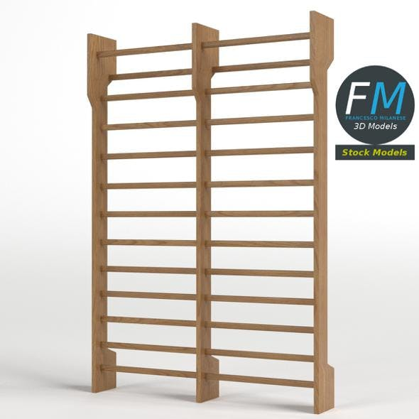 Double Swedish ladder - 3DOcean Item for Sale
