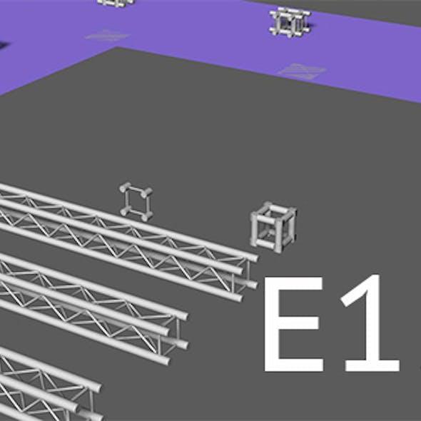 Prolyte E15V light square trusses