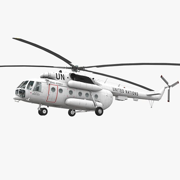 Mi-8MTV United Nations