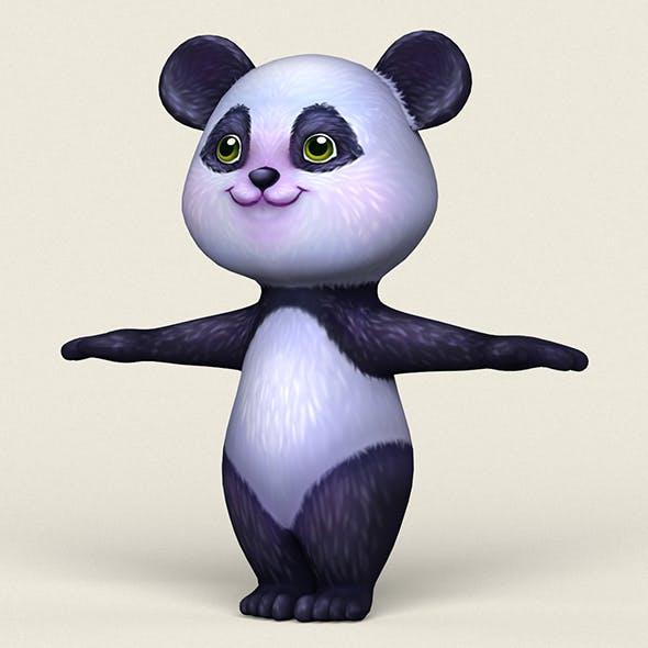 Cartoon Panda - 3DOcean Item for Sale