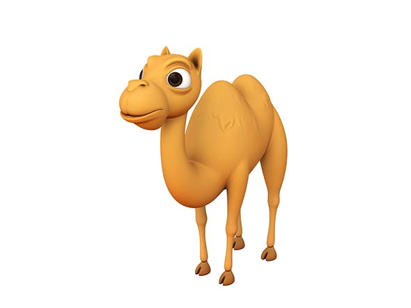 Camel Character - 3DOcean Item for Sale