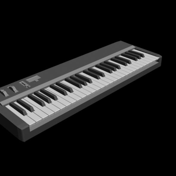 Low Poly Keyboard