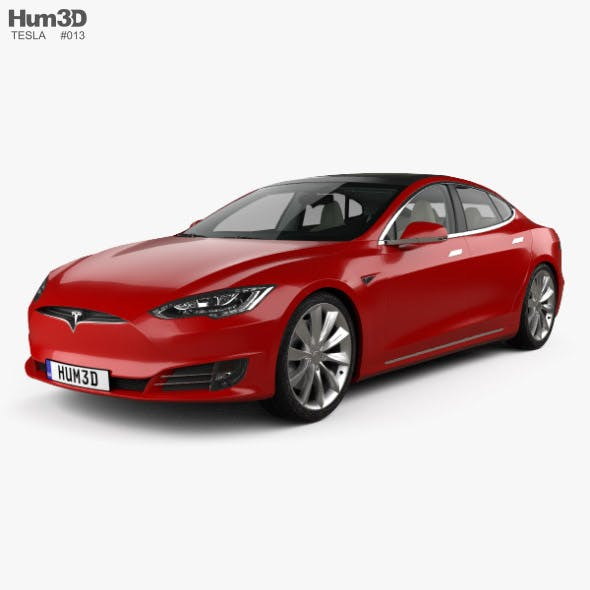 Tesla Model S P90D with HQ interior 2016
