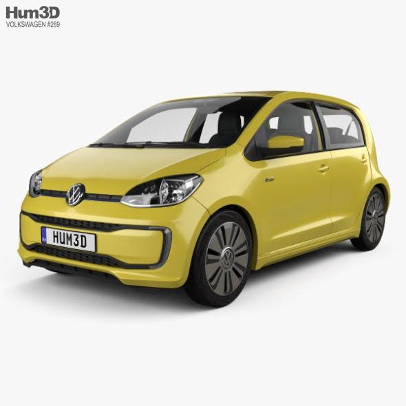 Volkswagen e-Up 5-door with HQ interior 2016