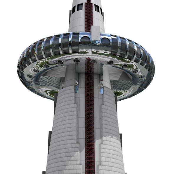 Hanvit Observation Tower - 3DOcean Item for Sale