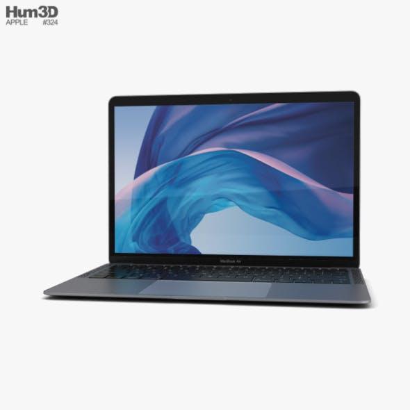 Apple MacBook Air (2018) Space Gray - 3DOcean Item for Sale