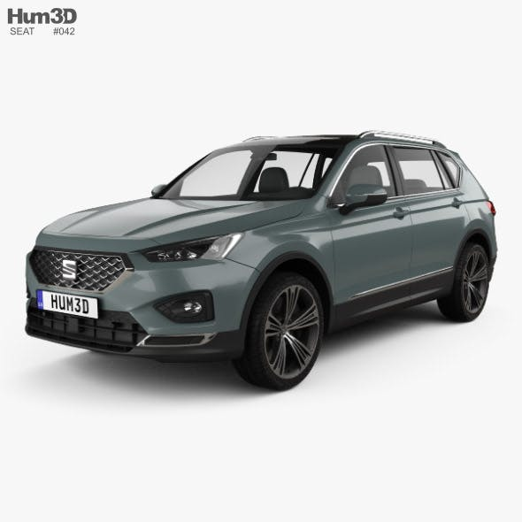 Seat Tarraco 2019 - 3DOcean Item for Sale